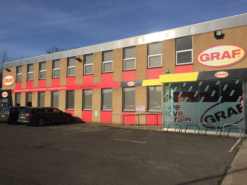The move comes just months after GRAF upsized its UK headquarters, relocating to the 10,000 sq. ft. premises in Banbury, Oxfordshire.