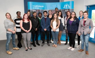 Fifteen of the ambassador team who met up recently at a get together in the JTL Birmingham centre