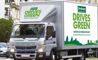 The vehicle will be trialed first at Graham's London office