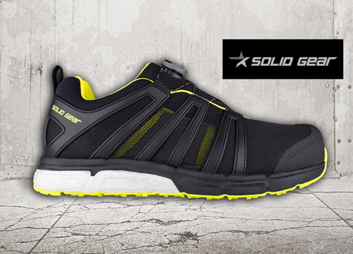 The VENT safety shoe from Solid Gear is ideal for workers who are constantly on the move.