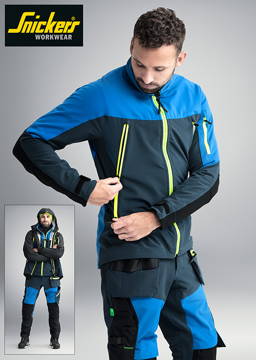 Snickers has unveiled its new weatherproof stretch Trousers and Jackets.