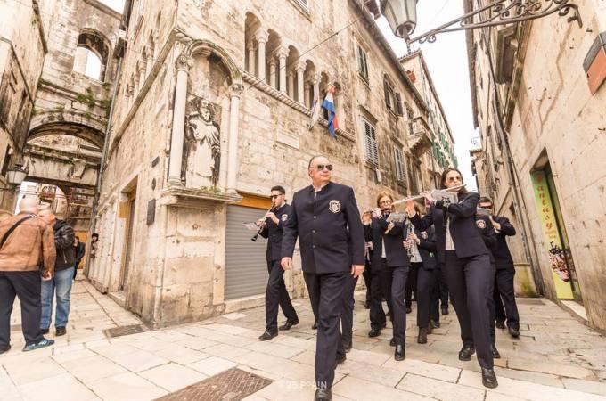 HPO Gradska glazba Imotski na Tjednu Porina u Splitu