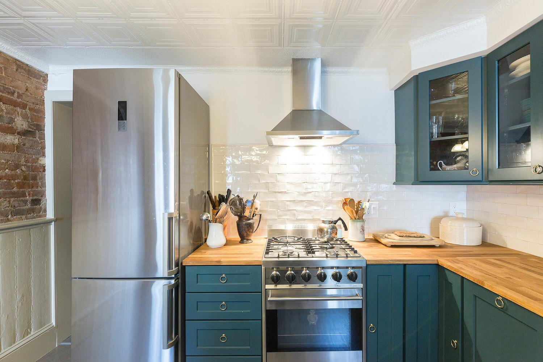 historic brownstone kitchen remodel | houseplay renovations