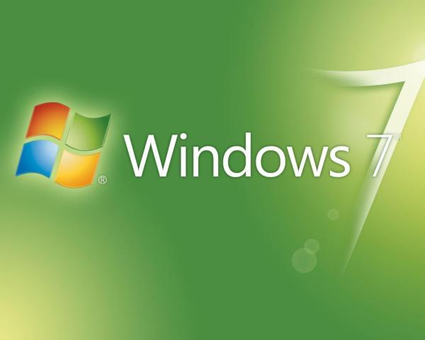 Windows 7 зеленого цвета1920x1200 пикселей обои для ...