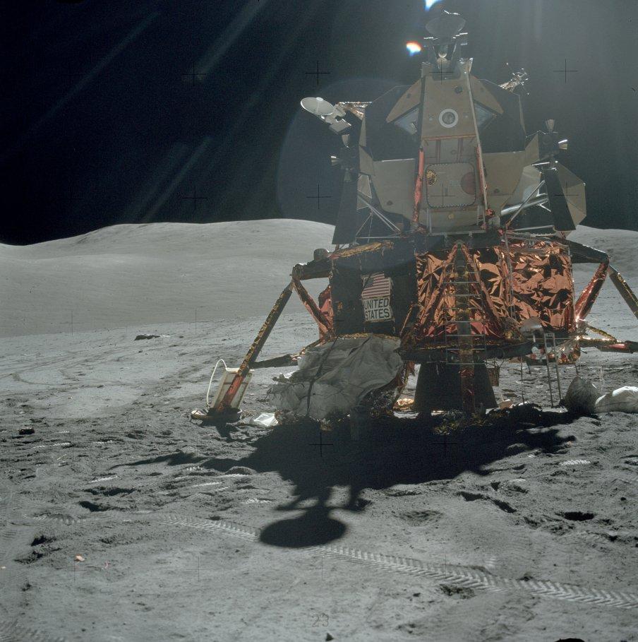 El módulo lunar