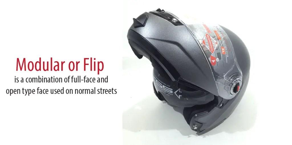 Type of best modular helmet or best flip up helmet