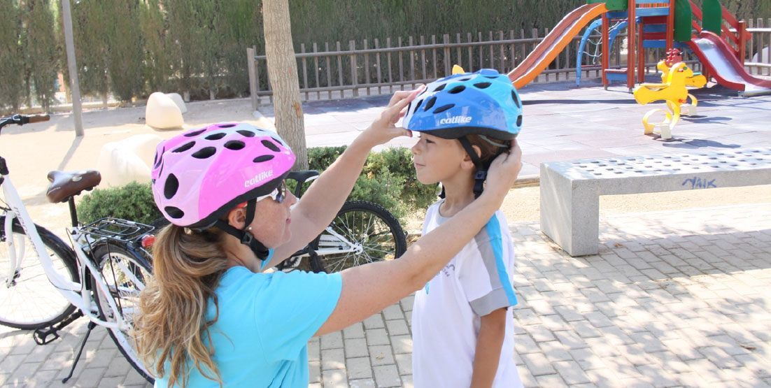 how to wear a bike helmet