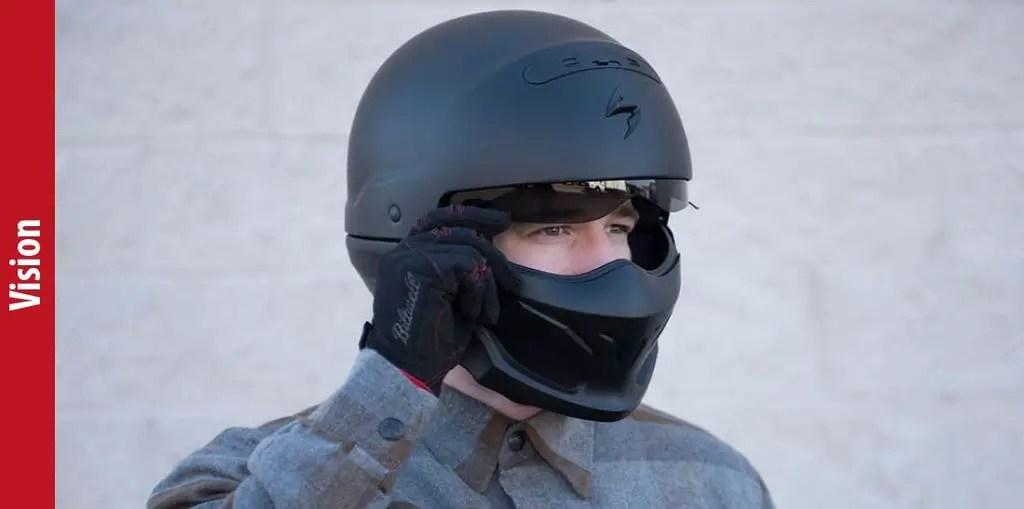 ScorpionExo Covert Unisex Adult Half Helmet Vision