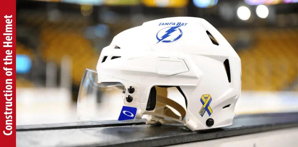 Construction of the Helmet -How Are Hockey Helmets Made