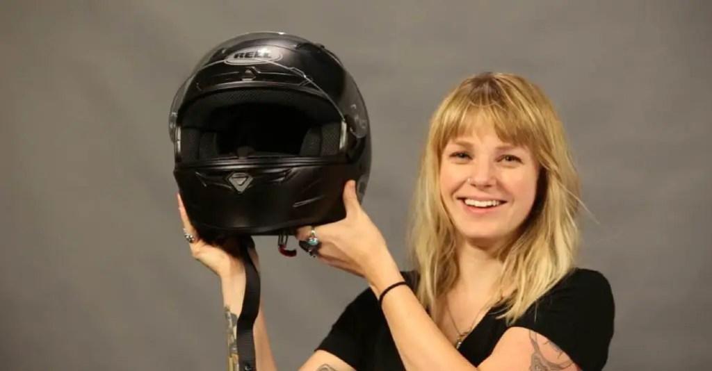 Bell qualifier helmet visor