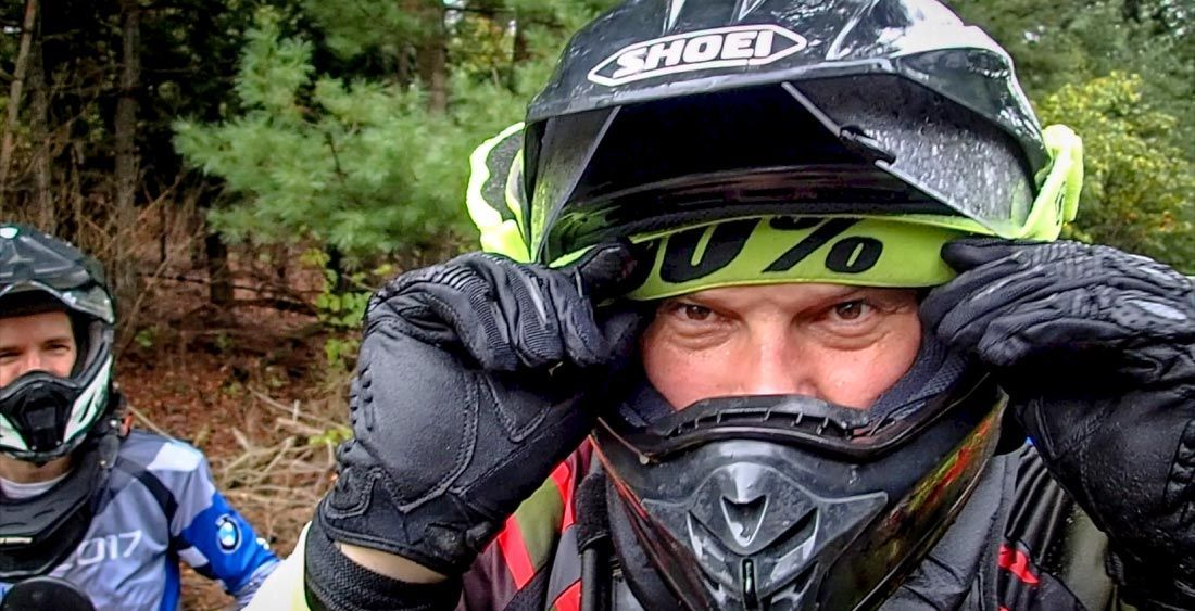 Adventure helmets vs. dirt bike helmets