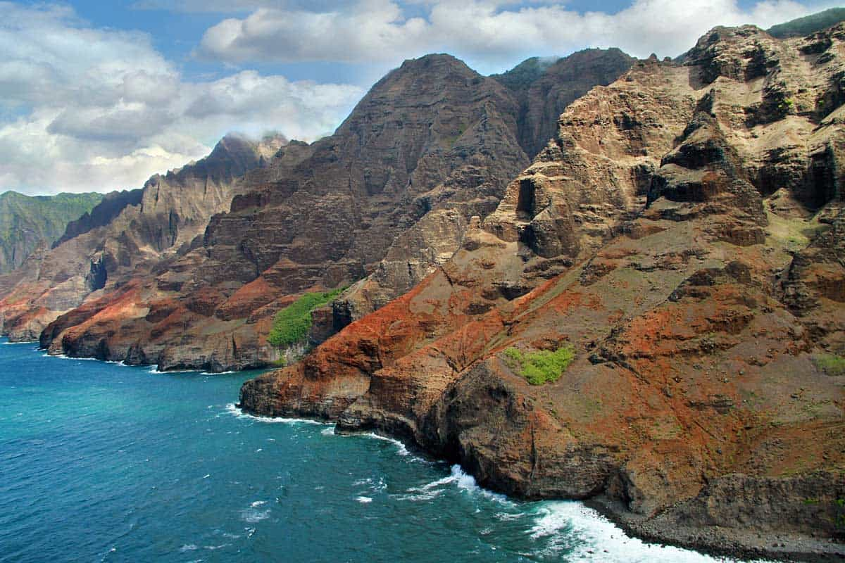 The Napali Coast at Kauai, Hawaii Photo