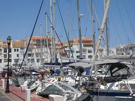 20150613 Almerimar inner harbour