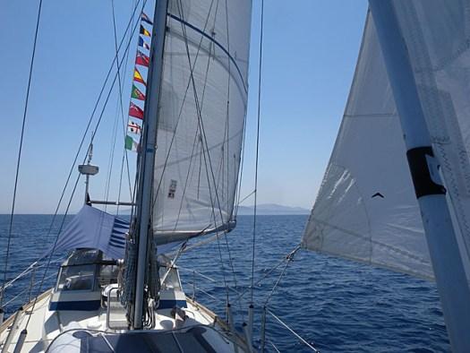 20150725 Sailing home