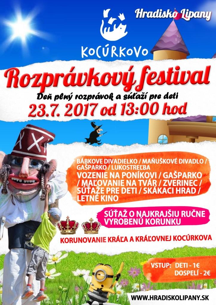 Hradisko Lipany kocurkovo 2017 akcia pre deti