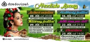 folklorny festival dzedovizen hradisko lipany