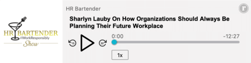 The HR Bartender Show Future Workplace podcast player
