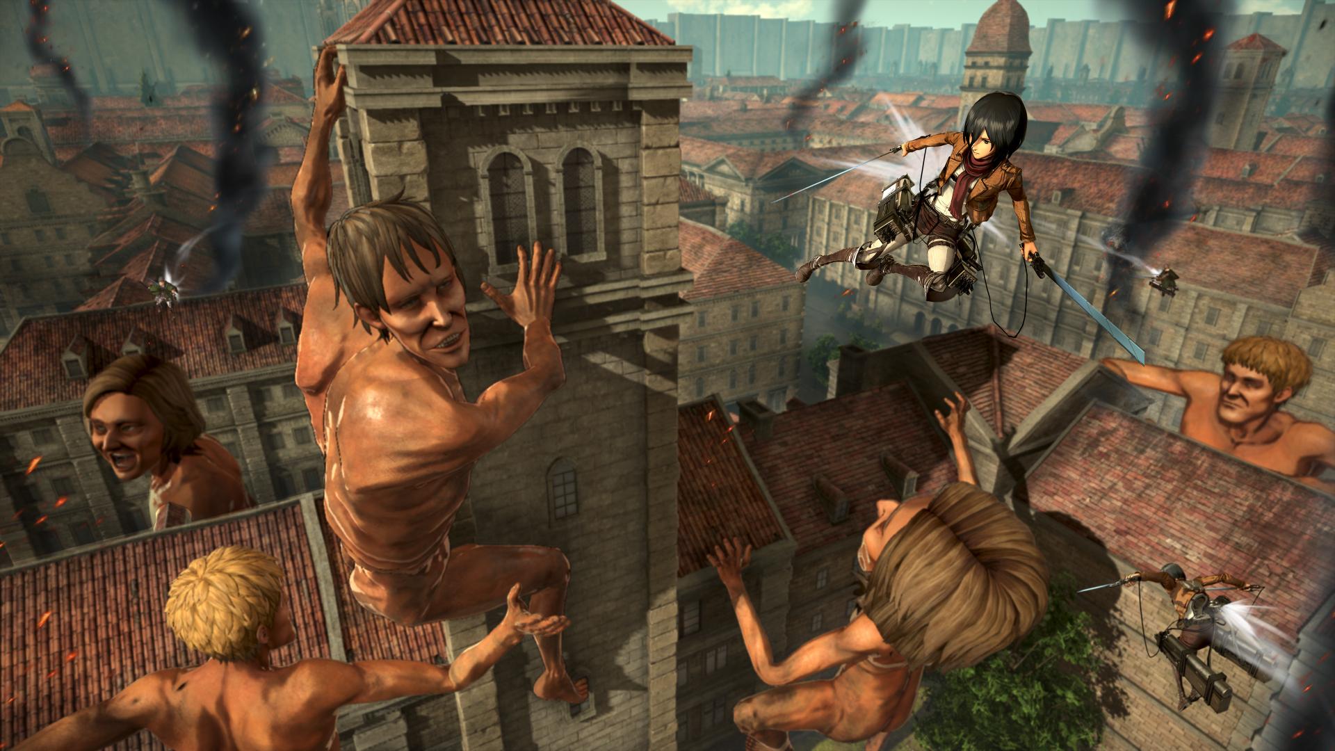 Attack on Titan 2: Final Battle - New Combat Skills ...