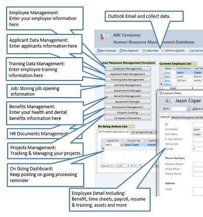 Download Human Resource Management Database free ...