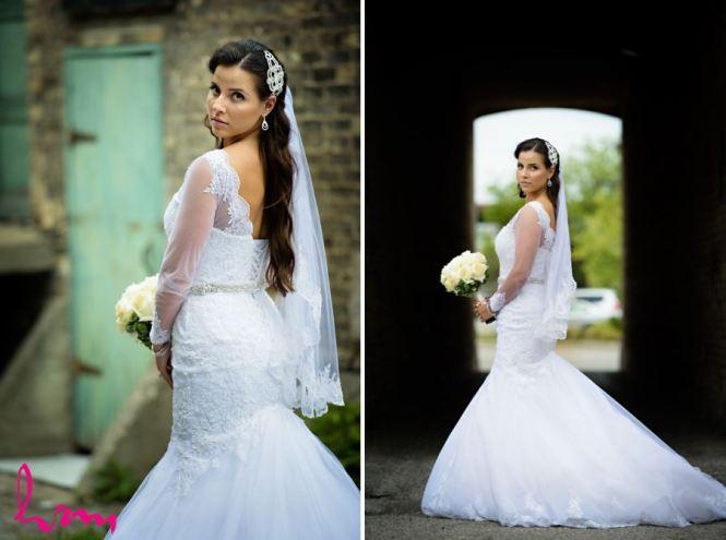London Ontario Wedding Photography Bride And Groom Urban Day