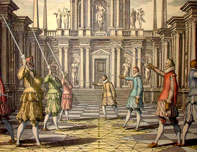 Из учебника Тибо, 1630 год / FROM THIBAULT'S TREATISE OF 1630