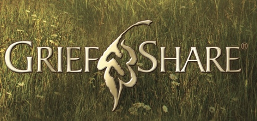 Logo of GriefShare a support group for those dealing with grief