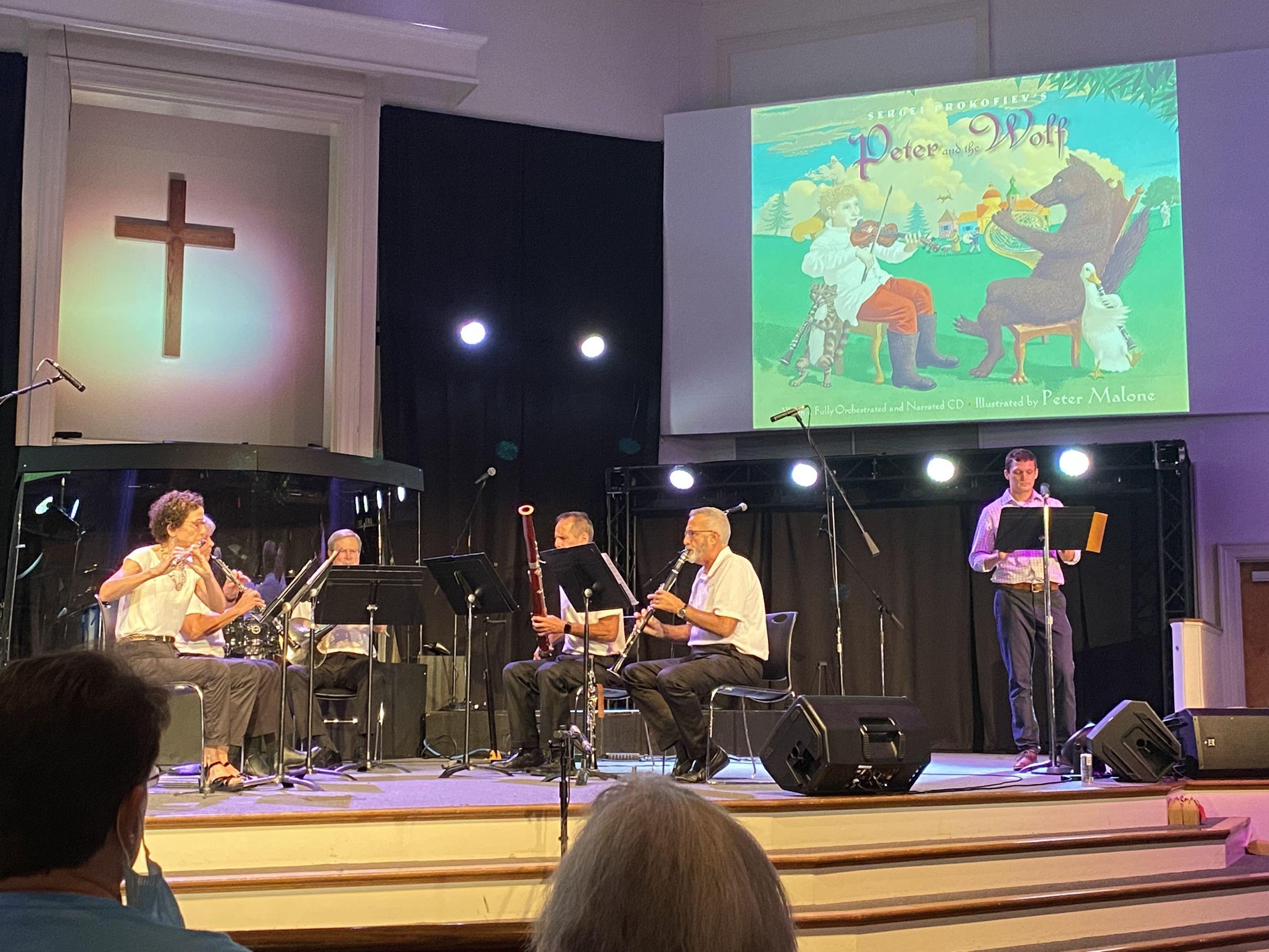 Woodwind Quintet performs in Hampton, VA