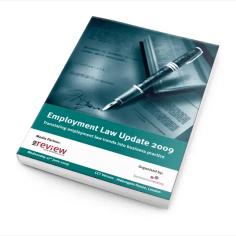 Employment Law Update 2009 - Documentation