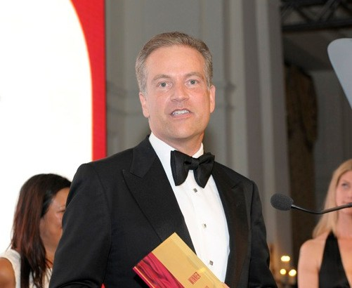 Barclays Boss Curt Hess honoured at 'gay Oscars'