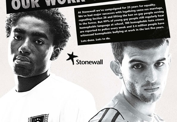 Endemic levels of homophobia in Britain's workplaces, say Stonewall