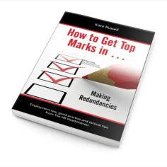 How to get top marks in... Making Redundancies