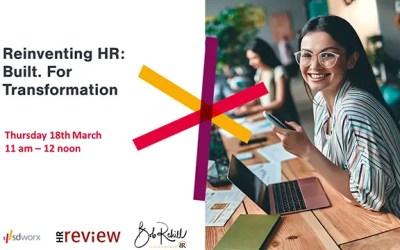 Reinventing HR: Built. For Transformation – 18/03/2021