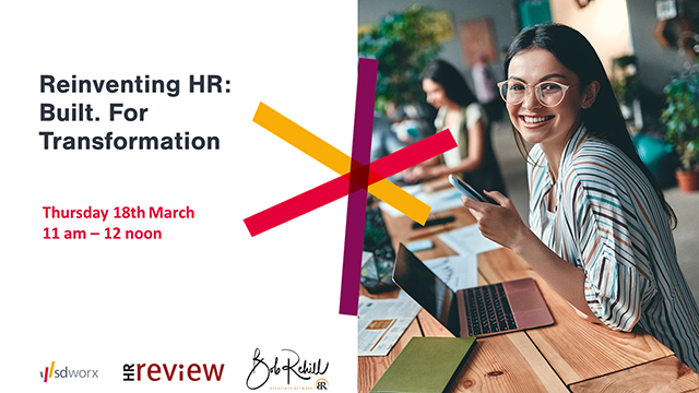 Reinventing HR: Built. For Transformation – 18/03/2021