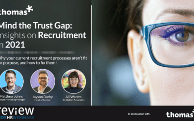 Mind the Trust Gap – Insights on Recruitment in 2021 – 17/06/2021