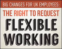 Uncertain about new flexible working rights for all? Find out the key facts here! (Infographic)