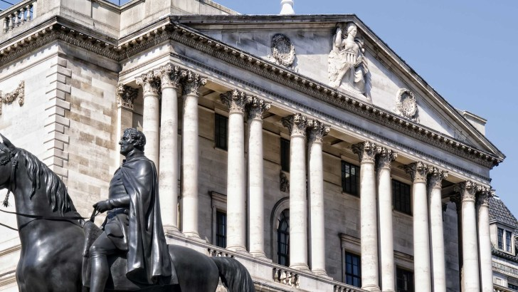Bank of England personal banking service to terminate for employees