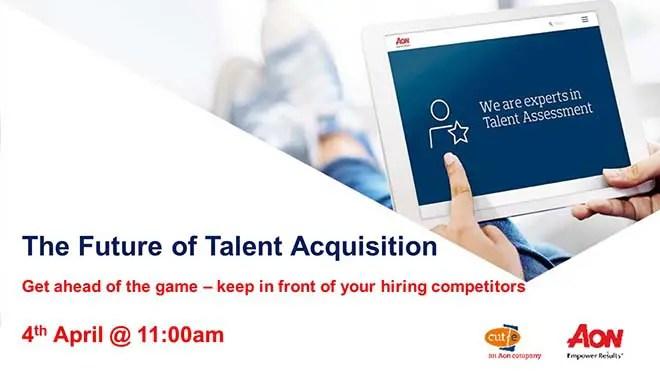 free live webinar on talent acquisition