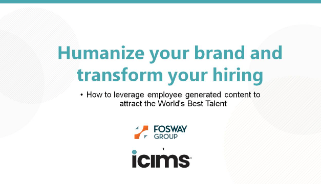 Humanize Your Brand and Transform Your Hiring – 27/05/2021