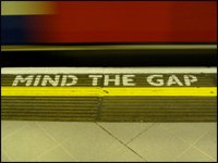 Nigel Rothband: 'Mind the Gap'