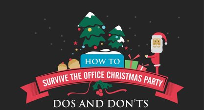 Dos and don'ts at the office Christmas party – Part 2 (Infographic)