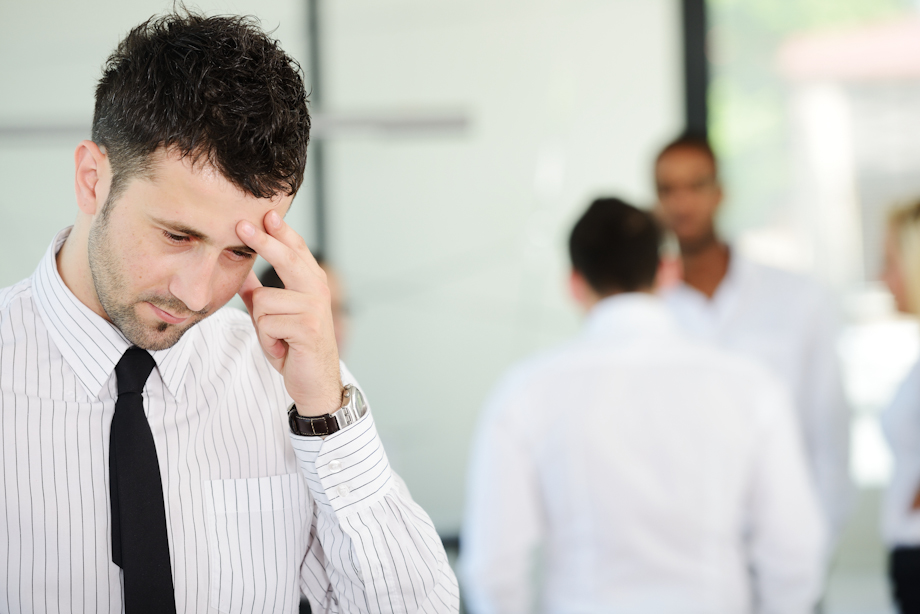 94% of business leaders admit prejudice exists in their organisation for mental health issues