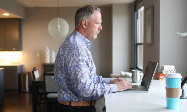 Working from home allows older workers to stay in the labour market