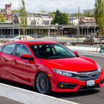 2017 Honda Civic Sedan Ex T H R Special Springs Lp