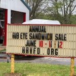 Join us for our Annual Rib Eye Sandwich Fundraiser