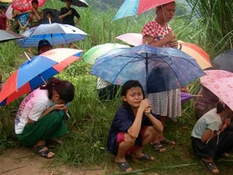 Forced repatriation of Karen refugees from Mae Ra Ma Luang camp