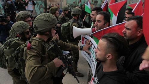 Israel's Use of Draconian Military Orders to Repress Palestinians in the West  Bank   HRW