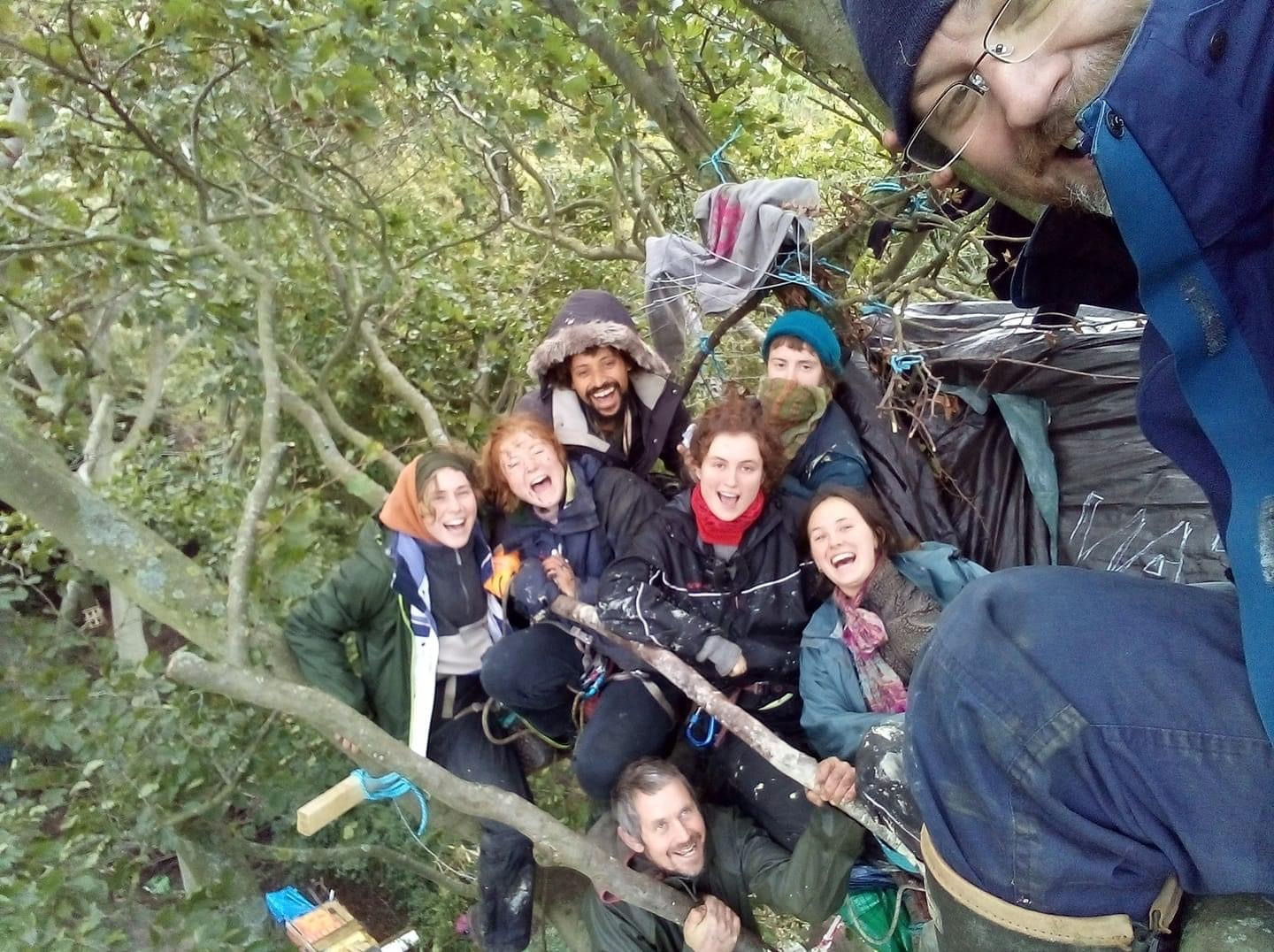 Case dismissed for six Anti HS2 activists charged in defence and eviction of Jones' Hill Ancient Woodland and surrounding Chilterns AONB.