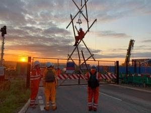 HS2 Protest at Maple Cross