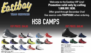 HSBCAMPS Eastbay VIP Line – Deals & Special Ordering Instructions Inside