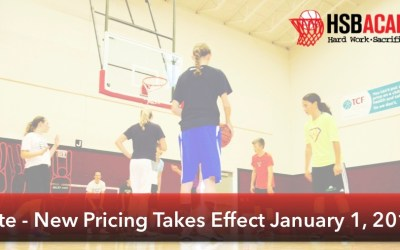 Important Academy Update – New Pricing Begins January 1st!